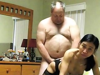 Bull Old man with thick Dick #02