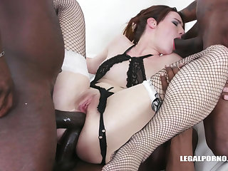 Amanda Sublimity Interracial Duplicate Anal Penetration