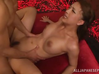 Miyu Kotohara gets fucked by hard friend's penis greatest extent she moans