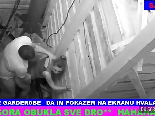Serbian couple did quite a distance notice eradicate affect stabilizer camera