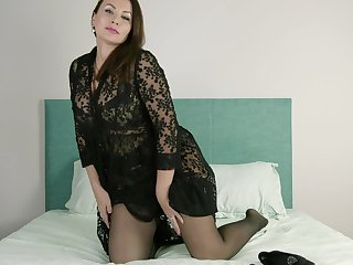 Big sexual congress eye-opener Tanya Foxxx is masturbating puffy pussy