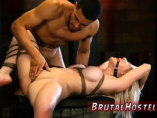 Brazilian pussy abrading slave xxx Big-breasted towheaded