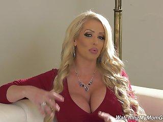 Dickcrazed pornstar's devote is really fun on touching watch that MILF is so much fun