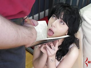 Caged amateur forced fucked and made to swallow