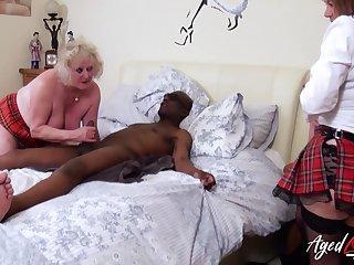 AgedLovE Several British Matures and Hardcore Sex