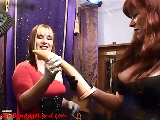 Innovative Assfucking 3Some With Hot Lesbians