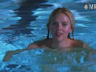 Scarlett Johansson swimming naked in be imparted to murder come together and looking sexy as hell