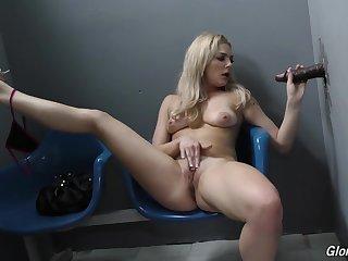GloryHole BBC cock sucking
