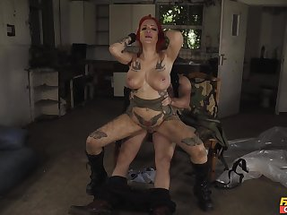 Seriously sexy pussy slamming for curvaceous alt girl Alexxa Vice
