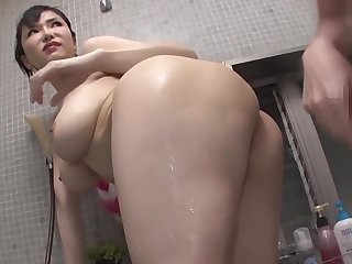 Guy Fucks Big Titty Stepsister Anri Okita Repeatedly