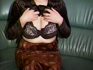 Horn-mad a step plump amateur cam MILF plays connected with her beefy knockers