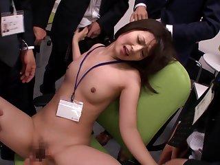 Asian, Brunette, Deepthroat, Group, Handjob, Japanese, Red, Sex,