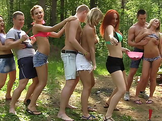 Anal, Babe, Group, Outdoor, Sex, Teen,