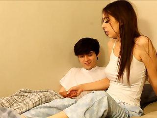 Perverted senior brother seduces sister